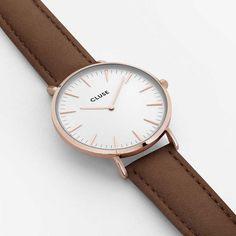 Cluse CL18010 Rose Gold White / Brown La Bohème versandkostenfrei, 100 Tage Rückgabe, Tiefpreisgarantie, nur 89,95 EUR bei Uhren4You.de bestellen