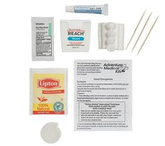 Free same day shipping on Adventure Medical Kits' Dental Medic kit. This kit treats lost fillings, chipped teeth, sore gums, and minor infections.