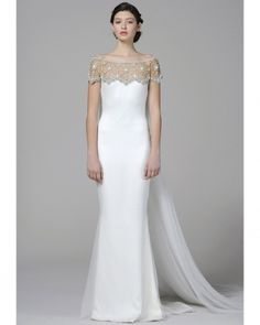 Marchesa's 2013 Bridal Collection proves why we have to have Fashion Friday here at Bride and Breakfast. It's a whimsical collection for the modern bride, and it's a crime not to … Marchesa Wedding Dress, Marchesa Bridal, Marchesa Spring, Wedding Dress Styles, Wedding Attire, Bridal Dresses, Wedding Gowns, Lace Wedding, Wedding Bells