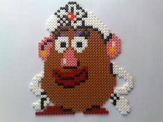 Mrs. Potato Head Toy Story hama perler beads