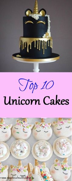 Top 10 Unicorn Cakes | Unicorns are currently taking over the world! Everywhere I look, unicorns are left, right and centre. Unicorn cakes, unicorn cupcakes, unicorn cake pops, unicorn cookies... unicorn clothes, unicorn stationery, unicorn bed sets... UNICORN EVERYTHING!!! | http://magnificentmouthfuls.com.au/2017/06/24/top-10-unicorn-cakes/