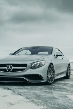 """Winter is coming."" S63 Coupe 