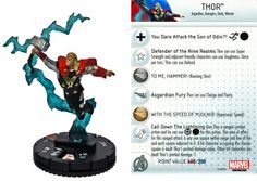 Thor #019 Thor: The Dark World Gravity Feed Marvel Heroclix