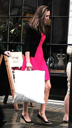 Kate Middleton Stops to Shop Before Her Big Night Out With Prince William