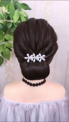 Formal Hairdos, Formal Hairstyles For Long Hair, Hairdo For Long Hair, Long Hair Video, Step By Step Hairstyles, Braided Hairstyles Tutorials, Quick Hairstyles, Party Hairstyles, Anime Hairstyles