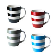 Cute Stripey Coffee Mugs
