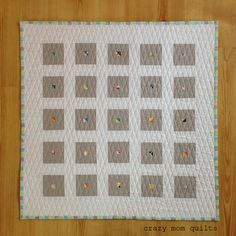 crazy mom quilts: the frugal gal mini quilt 112