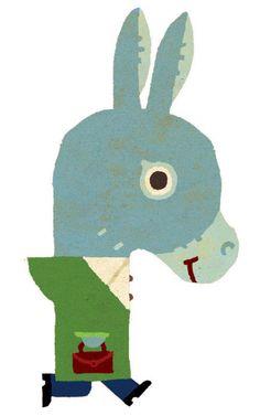 """Tomás Hijo - illustration for the book """"Niños raros"""""""