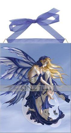 Blue Dream Tile <BR>by Nene Thomas