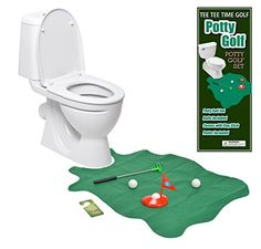 Best price on Toilet Golf Joke & Novelty Set - Play Golf on the Toilet - Wavy Design by Allures & Illusions //   See details here: http://toysfund.com/product/toilet-golf-joke-novelty-set-play-golf-on-the-toilet-wavy-design-by-allures-illusions/ //  Truly a bargain for the inexpensive Toilet Golf Joke & Novelty Set - Play Golf on the Toilet - Wavy Design by Allures & Illusions //  Check out at this low cost item, read buyers' comments on Toilet Golf Joke & Novelty Set - Play Golf on the…