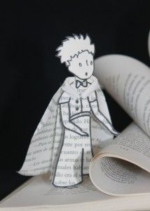 Altered book - The Little Prince. Livre d'artiste - Le Petit Prince. Libro de artista - El Principito. Marielle JL Paper Creations