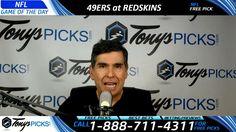 San Francisco 49ers vs. Washington Redskins – Free NFL Football Picks an...