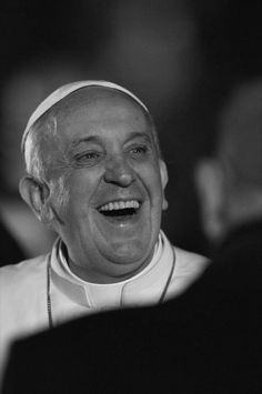This man has the most beautiful smile I have ever seen. Pope Francis is so full of love and the Holy Spirit, just looking at his smile can turn my bad day around.  God bless Pope Francis, we are truly blessed to have him as our pope!