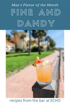 The #1 Ultimate Refreshing Watermelon Cocktail for Summer: The Fine and Dandy