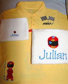 Shirt & handdoekset