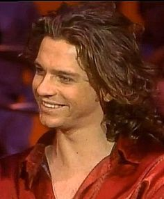 Michael Hutchence from American Bandstand.