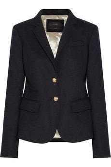J.Crew navy blazer. Every girl needs this!