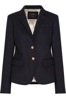 J.Crew navy blazer. Every girl needs this!