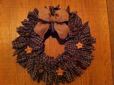 Prim Mart Crafter's Online Community - rag wreath