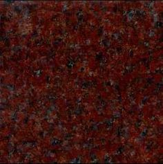 Red, Burgundy, and Pink Granite Countertop Colors