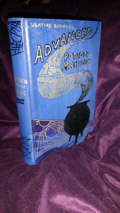 Harry Potter school book!! 😍 Advanced Potion Making book by PixieDustBooks  http://etsy.me/1WF9pKQ