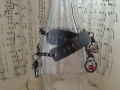 A Mother's Love Personalized double wrap bracelet by Kris Lanae.  www.cherishdesigns.wordpress.com