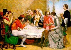 'Lorenzo and Isabella', Sir John Everett Millais