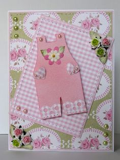 Overalls Shaped CardTemplate from The Cutting Cafe