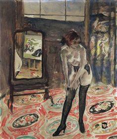 Young Girl In Black Stockings Istvan Csok – Hungarian) Contemporary History, Modern Art, Kiesel, Black Stockings, Lany, Russian Art, Art Themes, Illustrations, Global Art
