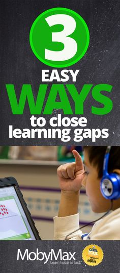 "The ""learning gap"" may be one of the biggest hurdles you face when you first walk into your classroom. How do you effectively close the learning gap for each student while making sure the whole class continues to progress through the curriculum? MobyMax is a FUN and FREE tool that finds and fixes learning gaps with the power of personalized learning in all K-8 subjects including math, reading, language, writing, science, social studies, and more. MobyMax is specifically designed for…"