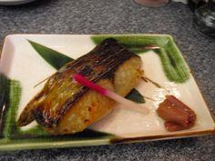 fish (saikyo yaki from KYOTO)