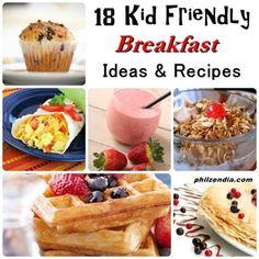 18 Kid Friendly Breakfast Ideas and Recipes