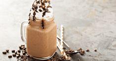 Starbucks Caramel Frappuccino Recipe Starbucks Caramel Frappuccino, Homemade Frappuccino, Frappuccino Recipe, Frappe, Almond Milk Whipped Cream, Sugar Free Whipped Cream, Ice Milk, Chocolate Syrup, Shake Recipes