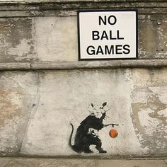 An all time favourite....Banksy's Graffiti, Animated