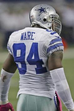 DeMarcus Ware is back! I'M READY FOR SOME DALLAS COWBOYS FOOTBALL!!!
