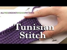 31 Basic Crochet Stitches | AllFreeCrochet.com                                                                                                                                                                                 More