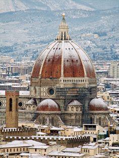 Más tamaños | La cupola del Brunelleschi con la neve | Flickr: ¡Intercambio de fotos!