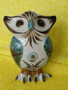 Vintage Folk Art Mexican Owl