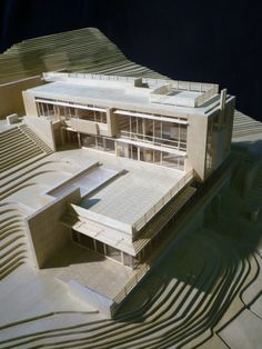 Villa Gardone / Richard Meier & Partners Architects,Model © Richard Meier & Partners
