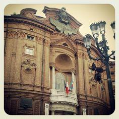 Ma qui, a Palazzo Carignano è nata davvero l'Italia unita? #instagramyourcity - @michelepz- #webstagram