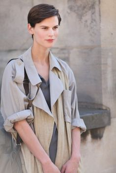 SPRING TRENCHES in Paris http://markdsikes.com/2013/05/13/spring-trenches/