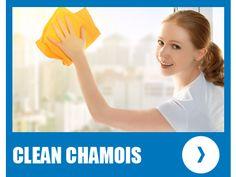 clean chamois