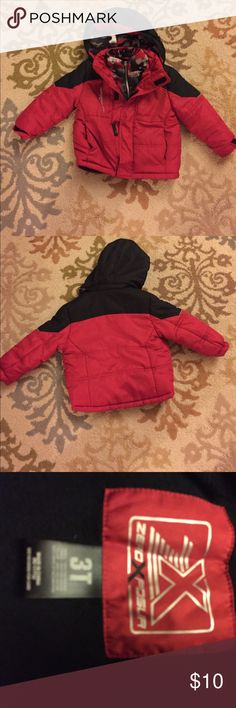 Boys 3t winter coat Boys 3t winter coat. Liner is attached. ZeroXposur Jackets & Coats Puffers