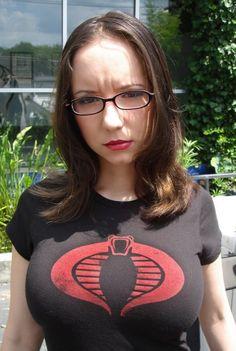 Character: The Baroness / From: 'G.I. JOE' / Cosplayer: Riki LeCotey (aka Riddle's Messy Wardrobe)