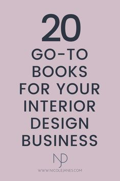 20 go-to books for your Interior Design business. Must-read book recommendations for students and beginners. Interior Design Books, Interior Design Business, Business Card Design, Book Design, Artist Business Cards, Social Media Design, Book Recommendations, Books To Read, Branding Design