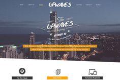 UPWAVES - Creatives PSD Web Template - Websites - 1
