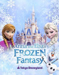 Concept art for new 'Frozen' celebration at Tokyo Disneyland!