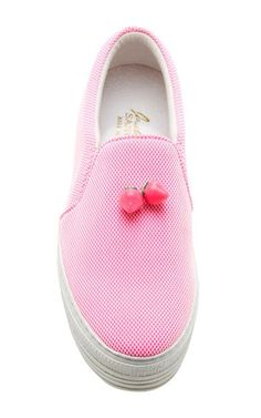 Strawberry Slip-On Sneakers by Joshua Sanders - Moda Operandi