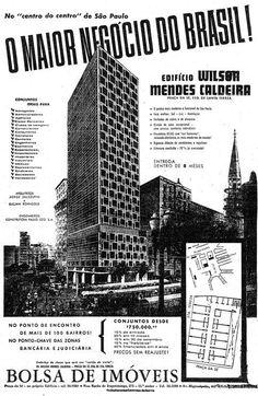 Edifício Wilson Mendes Caldeira, no centro do centro de São Paulo
