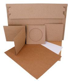Cardboard CD Sleeves Sample Pack   $6.99